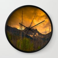 Kootenay Wildfires Wall Clock