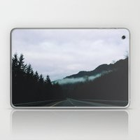 road through the fog Laptop & iPad Skin