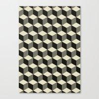 Metatron Cubes 02 Canvas Print
