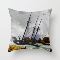 The Big Swell Throw Pillow
