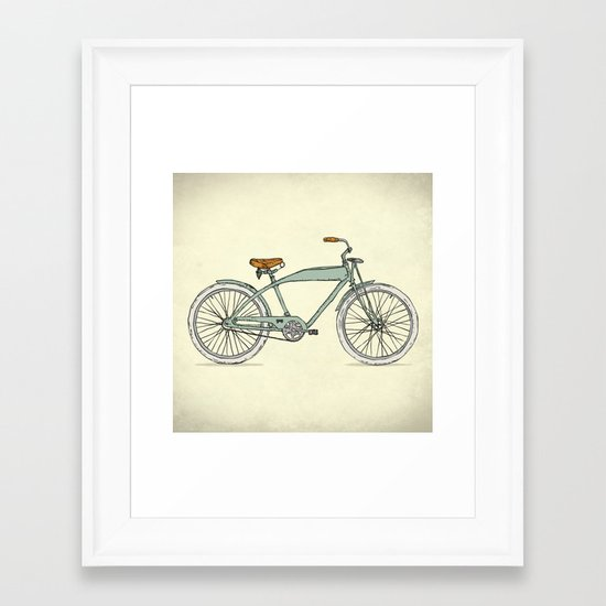 Retro-bicycles (1903) Framed Art Print