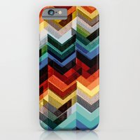Chevron Multicolour iPhone 6 Slim Case