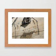 Italian Clothesline Framed Art Print