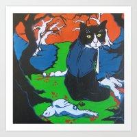 The Life Of Bruce Art Print