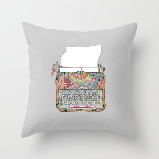 I DON'T KNOW WHAT TO WRITE YOU Throw Pillow