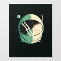 Death of an Astronaut Canvas Print