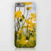 iPhone Cases featuring summer XII by petra zehner