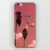 Welcome To Los Angeles iPhone & iPod Skin