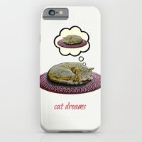 iPhone & iPod Case featuring Cat Dreams by Peter Gross