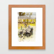 OUTSKIRT THRILLS Framed Art Print