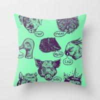 Pet Sounds Throw Pillow