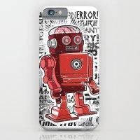iPhone & iPod Case featuring Robot Flux by Matt Fontaine