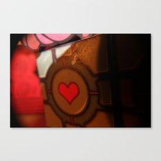 Companion Cube Experiment 14-C7 Canvas Print