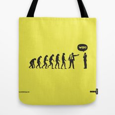 WTF? Evolution! Tote Bag