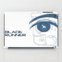 BLADE RUNNER (White - Voight Kampf Test Version) iPad Case