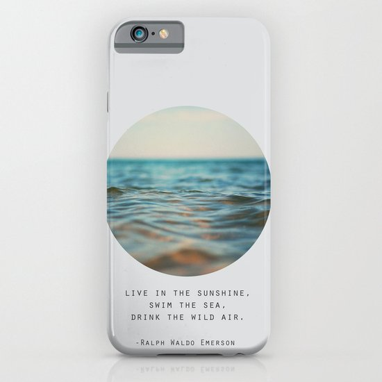 Swim The Sea iPhone & iPod Case