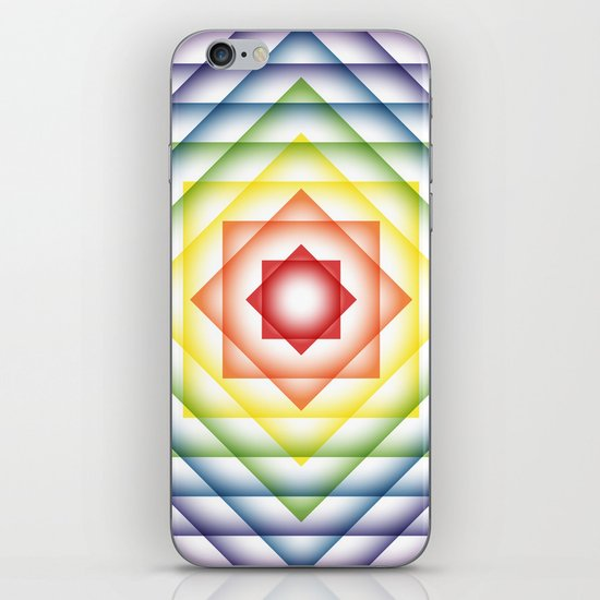 ROY G BIV Overlay iPhone & iPod Skin