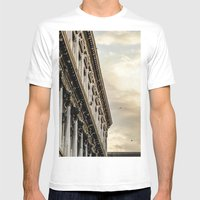Venice Sunset in St. Marks Mens Fitted Tee White SMALL
