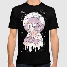 Space Sweetheart Mens Fitted Tee Black SMALL