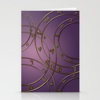 Zodiac Signs And Circles… Stationery Cards