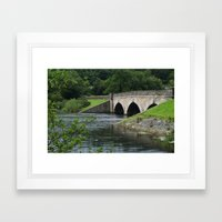 Lindley Wood Reservoir Framed Art Print