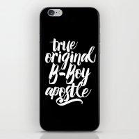 True, Original, B-Boy Apostle iPhone & iPod Skin