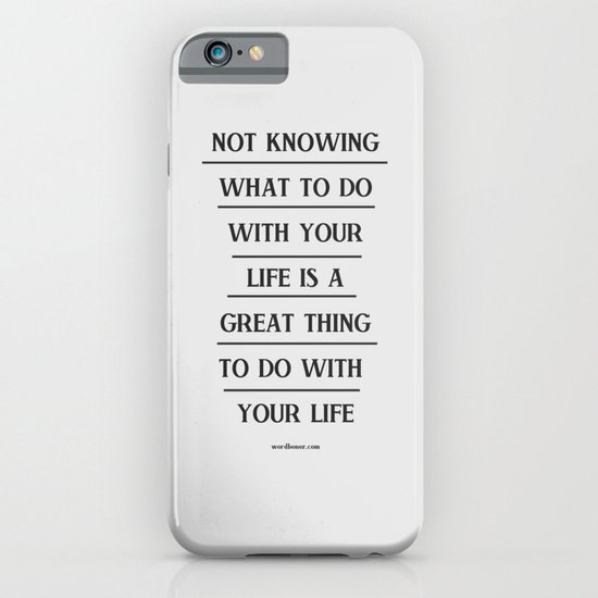 Notknowing iPhone & iPod Case