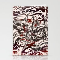 Koi Whirlpool Stationery Cards