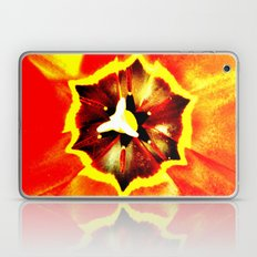 Orange Red Calyx Laptop & iPad Skin