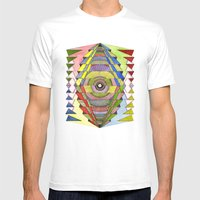 The Singular Vision Mens Fitted Tee White SMALL