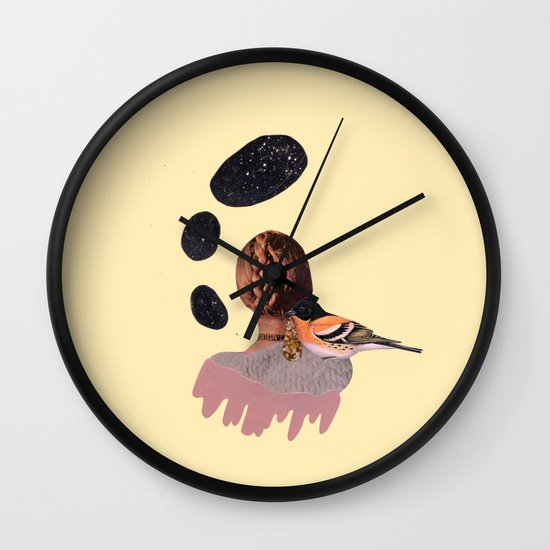 all at once, disappeared Wall Clock