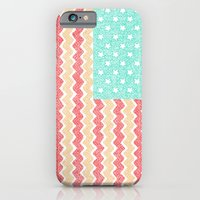 iPhone & iPod Case featuring Zig Zag Flag. by Nick Nelson