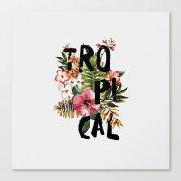Tropical I Canvas Print