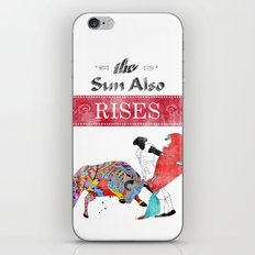 The Sun Also Rises iPhone & iPod Skin