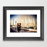 Stop! Framed Art Print