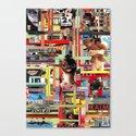 Visual Sequence #006 Canvas Print