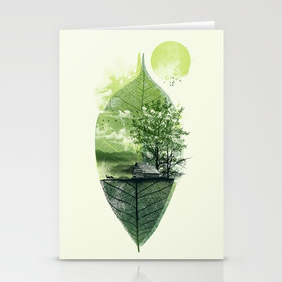 Live in Nature Stationery Card