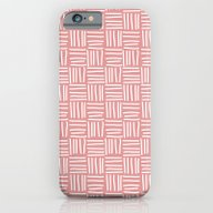 Lines Pink iPhone 6 Slim Case