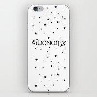 Astronomy Ambigram iPhone & iPod Skin
