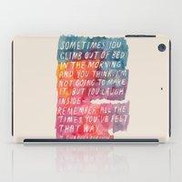 Charles Bukowski iPad Case