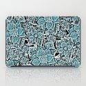 Wildflowers (blue) iPad Case