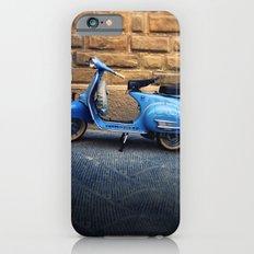 Blue Vespa, Italy iPhone 6 Slim Case