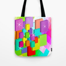 Blocked View Tote Bag