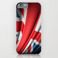 iPhone & iPod Case featuring Flag of Great Britain by Lulla