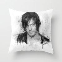 TwD Daryl Dixon. Throw Pillow