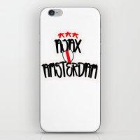 Ajax Amsterdam Graffiti street style iPhone & iPod Skin