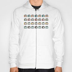 Colourful Camera Icons Hoody