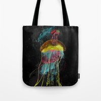 Electric Fins Tote Bag