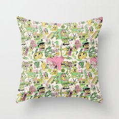 Memory Junk Throw Pillow