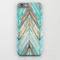 iPhone Cases featuring Wood Texture 1 by Robin Curtiss